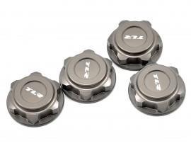 TLR3538 - ALUMINUM COVERED 17MM WHEEL NUTS (HARD ANODIZED)