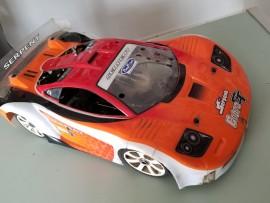 AUTOMODELO PRO SERPENT COBRA GT ONROAD 1/8 MOTOR SIRIO