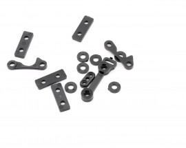 LOSA4453 - CHASSIS SPACER & CAP SET